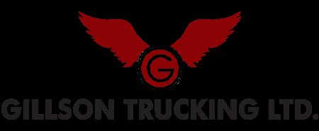 Gillson Trucking's Company logo